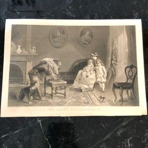 "The Young Photographer-6"" x 8.5""-Antique Engraving"